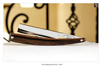 XLNT - A.W. Wadsworth & Son - Germany<br>5/8 - 1/2 Hollow - Cocobolo - Shave Ready
